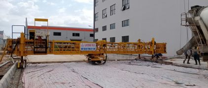 Supply CF1250 concrete finisher for Licogi contractor